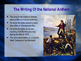 Music Power Points for War of 1812