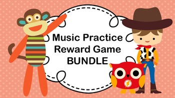 Music Practice Reward Game (Practice Chart) - BUNDLE