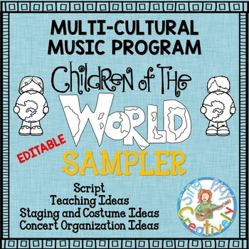 Music Program Sampler: Multi-Cultural Music Program Editab