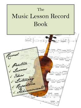 Music Record Book