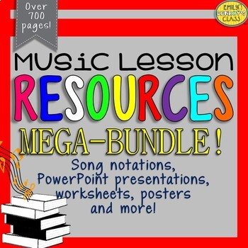 Music Resources (MEGA-BUNDLE)