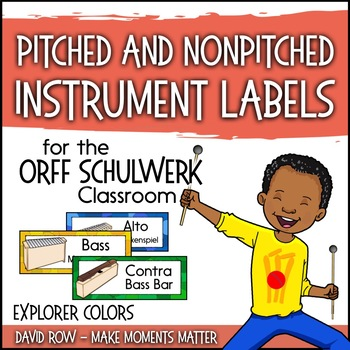 Music Room Instrument Labels, Setup, and Rules - Explorer