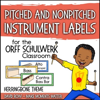 Music Room Instrument Labels, Setup, and Rules - Herringbo