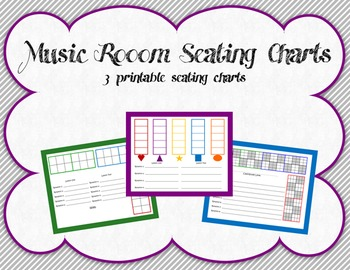 Music Room Seating Charts