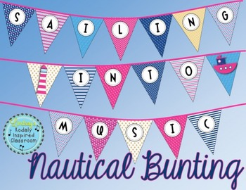Music Room Welcome Banner {Sailing Into Music}