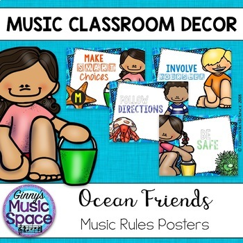 Music Rules {Ocean Themed}