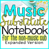 Music Sub Plans (For the Non-Musical Sub-EXPANDED)