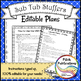 Music Sub Tub Stuffers: 3-5 Music Substitute Plan - Guido