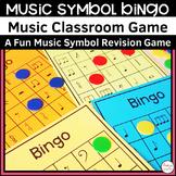 MUSIC: Music Symbol Bingo Game for Music Students