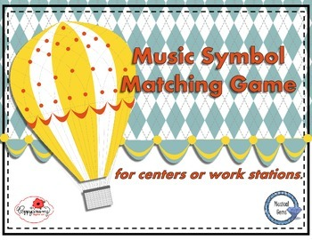 Music Symbol Matching Game
