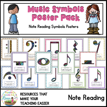 Music Symbols Poster Pack