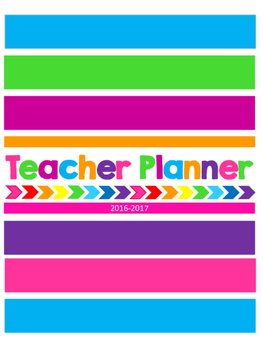 Music Teacher 2016-2017 Planner-3 every other day classes