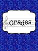 Music Teacher Binder - Red White and Blue