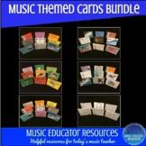 Music Themed Card BUNDLE