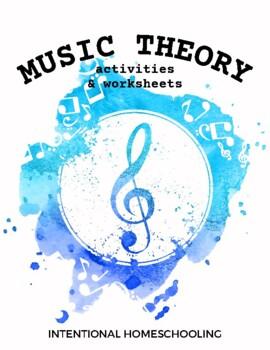 Music Theory Worksheets & Games - Grades K-3