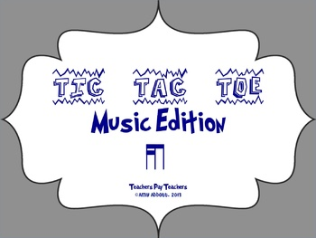 Music Tic Tac Toe Game: Tika-ti