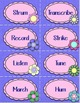 Music Verbs Word Wall {Garden of Music}