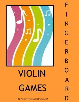 Music: Violin Fingerboard Games