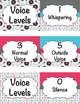 Music Voice Levels Clip Charts (3 design options)