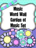 Music Word Wall {Garden of Music} {Editable}