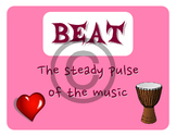 Music Word Wall Posters (Terms, Vocabulary, Definition, El