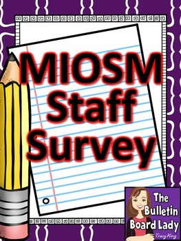 Music in Our Schools Month Staff Survey