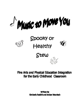 Music to Move You: Spooky (Healthy) Stew
