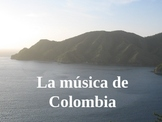 Musica de Colombia - PPT of popular Colombian music