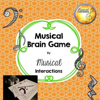 Musical Brain Game (B&W) - Comprehensive review, music cen