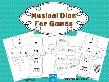 Musical Dice (for Various Games)