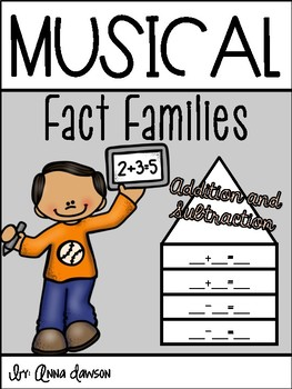 Musical Fact Families