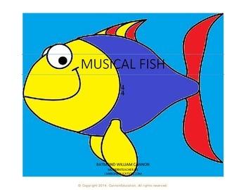 Musical Fish 4/4 Pack