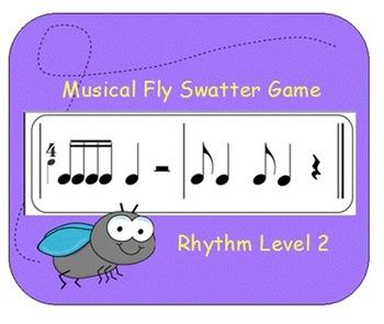 Musical Fly Swatter Game: Rhythm Level 2