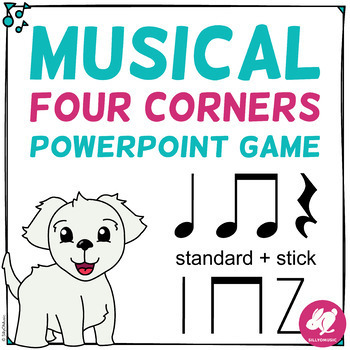 Musical Four Corners, Ta, Ti-Ti, Z Rhythms (Stick & Standard)