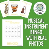 Musical Instrument Bingo ~ Quiet Review Game ~ Great Durin