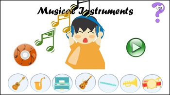 Musical Instruments - Lesson, Interactives, Worksheets & More!