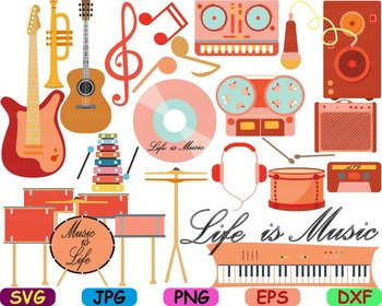 Musical Instruments Music note school svg Clip art piano m