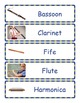 Musical Instruments Word Wall