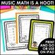 Musical Math is a Hoot! {10 Cross-Curricular Music Math Wo