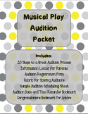 Musical Play Audition Packet