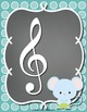 Musical Symbol Play Clay & Tracing Sheets: Friendly Animals