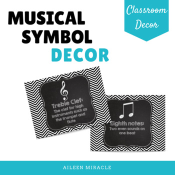 Musical Symbol Set