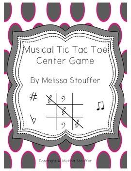 Musical Tic Tac Toe