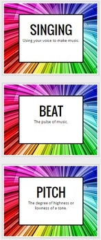 Musical Word Wall