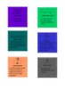 Musical key term cards!