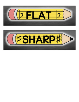 Musical pencil box labels