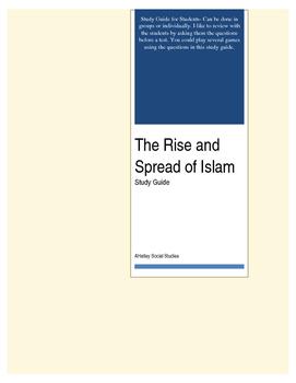 Muslim Civilization Study Questions