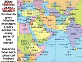 Muslim Trade Routes Lesson