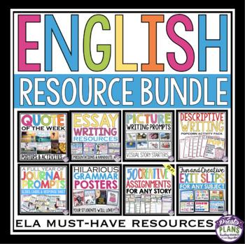 ENGLISH LANGUAGE ARTS RESOURCES