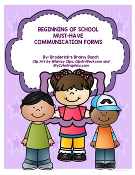 Must-Have Parent Communication Forms